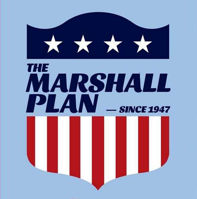 Программа помощи Европе была выдвинута в 1947 году американским государственным секретарём Джорджем К. Маршаллом.