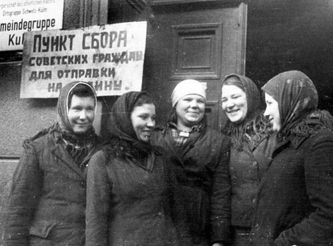 Советские представители требовали от западных властей решить проблему репатриации советских граждан на родину.
