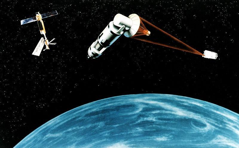 Американцы выбрали проект Space Based Laser.