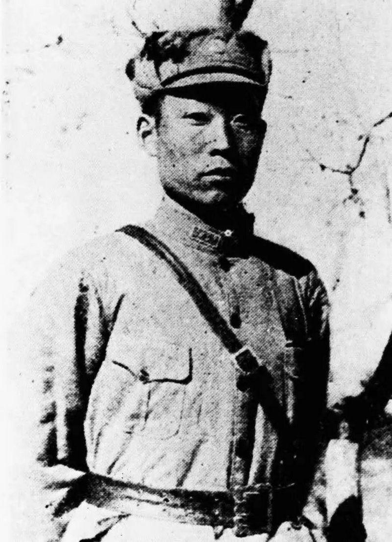 Командующий 109-й бригадой 37-й дивизии 29-й армии Китая Чжао Дэнъюй.
