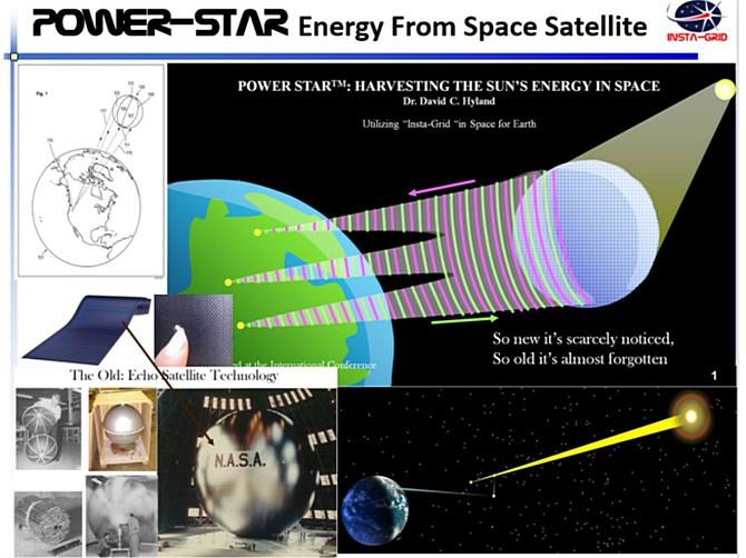 Американский космический проект с пафосным названием Power Star.