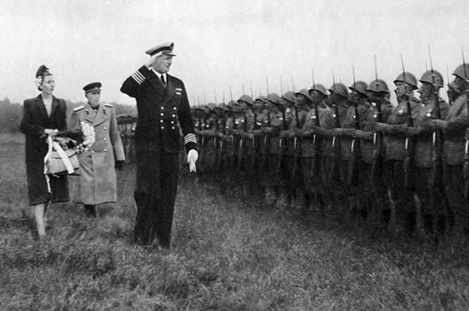 18 июня 1945 года остров посетил датский кронпринц Фредерик с супругой.