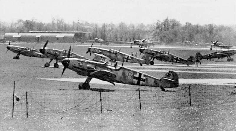 Немецкий военный аэродром на Борнхольме.