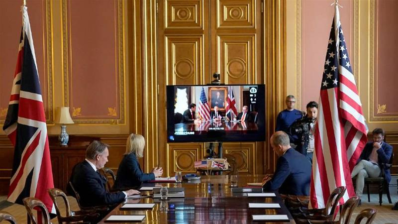 Первый раунд переговоров в условиях пандемии осуществляется посредством видео-конференции.