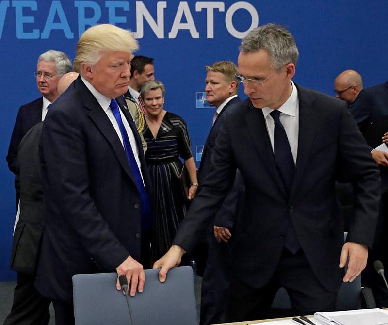 У Трампа есть влиятельные рычаги воздействия на европейскую элиту, например, через структуры НАТО.