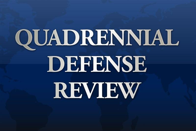Достигнутые и поставленные цели Минобороны США изложены в The Quadrennial Defense Review.