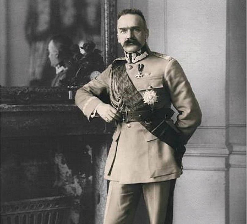 Отец современной польской нации маршал Юзеф Пилсудский.