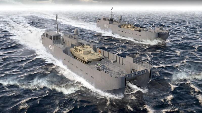 В Америке стали разрабатывать проекты небольших десантных кораблей с очень коротким жизненным циклом - порядка 10 лет.