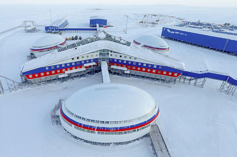 «Северный клевер» - военная база Российской Федерации на острове Котельный.