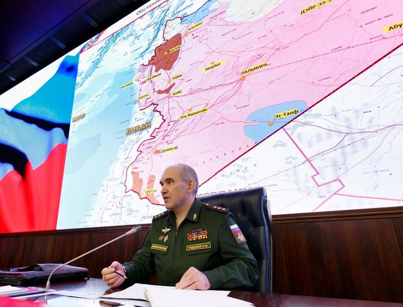 Начальник Главного оперативного управления Генштаба ВС РФ Сергей Рудской.