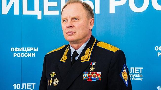 Председатель Президиума Общероссийской организации «Офицеры России» Герой России, генерал-майор Сергей Липовой.