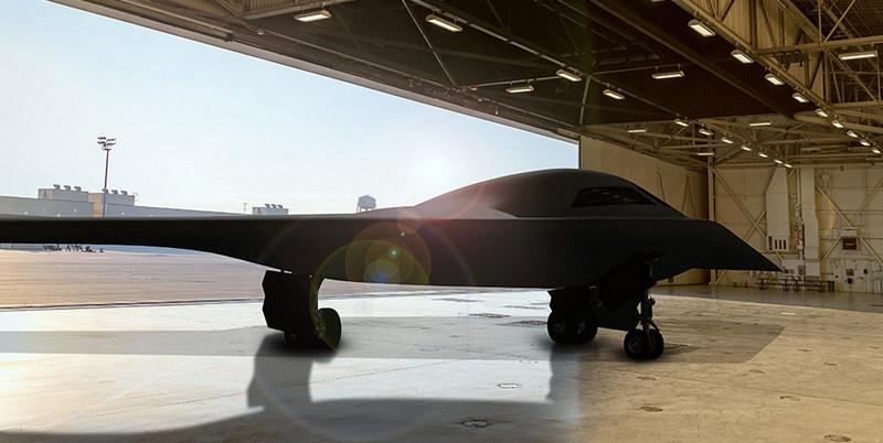 B-21 Raider - реализация программы Пентагона по созданию нового стратегического бомбардировщика по схеме «летающее крыло».