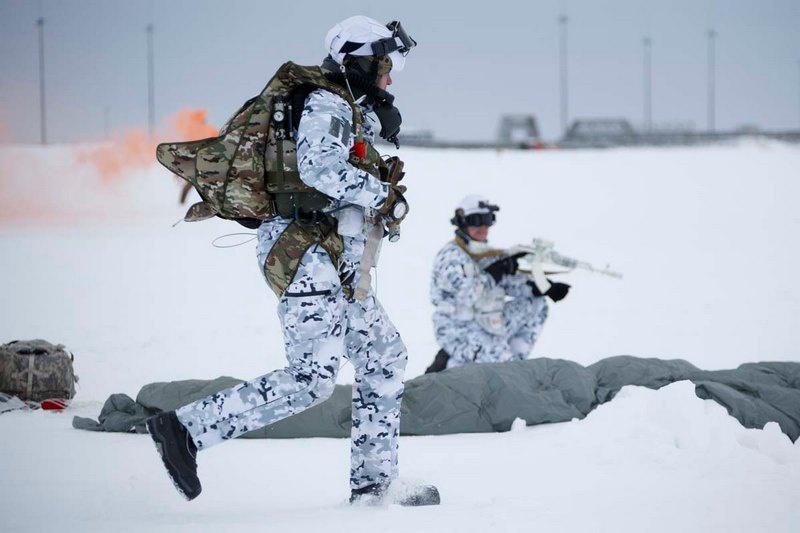 Тактико-специального учения по нейтрализации диверсионно-разведывательной группы противника в Арктике.