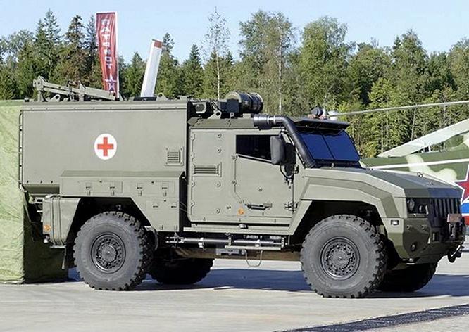 Автомобиль «Линза» создан на базе «КамАЗ-Тайфун» 4x4.