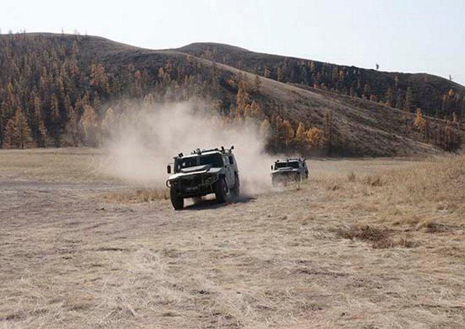 Почти 130 единиц современных образцов автомобильной техники поступило в войска Южного военного округа.