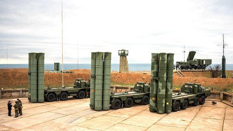 Российский комплекс ПВО в Калининградской области.
