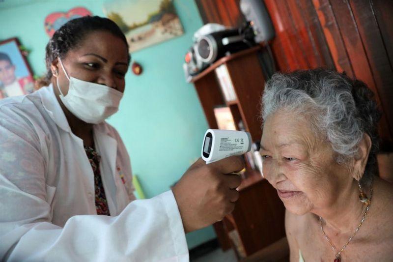 Куба оказывает Венесуэле всестороннюю медицинскую помощь, в том числе в условиях нынешней пандемии.