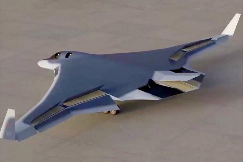 С учётом геометрии крыла становится очевидно, что российский стратегический бомбардировщик ПАК ДА создаётся как дозвуковой.