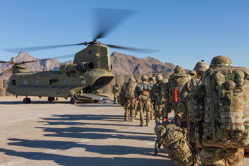 США выводят свои войска и оставляют лишь небольшой контингент.
