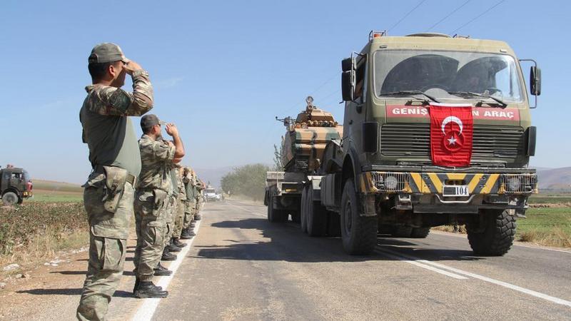 Переброска кадровых турецких военнослужащих в Ливию.