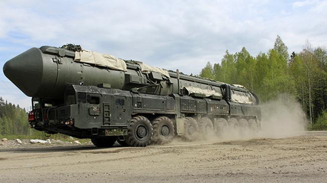 Продолжается перевооружение РВСН комплексами «Ярс».
