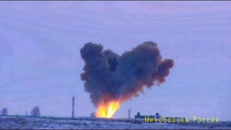В Ясненском соединении проводился испытательный пуск ракеты «Авангард».