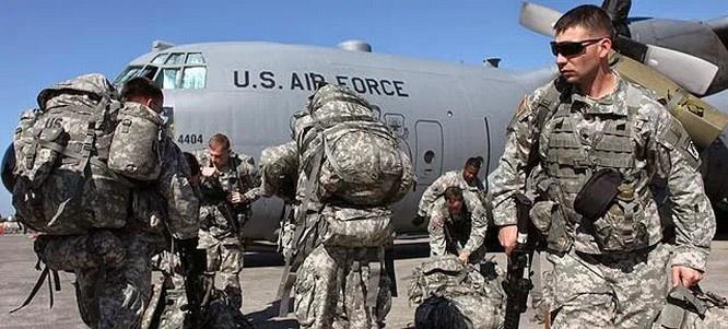 45 солдат бригады помощи сил безопасности прибыли в Колумбию.