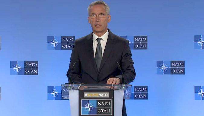 Генсек НАТО Йенс Столтенберг называет размещение американского атомного боезапаса в Европе лучшей «гарантией безопасности».