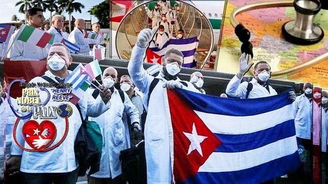 Нобелевскую премию мира - кубинским врачам