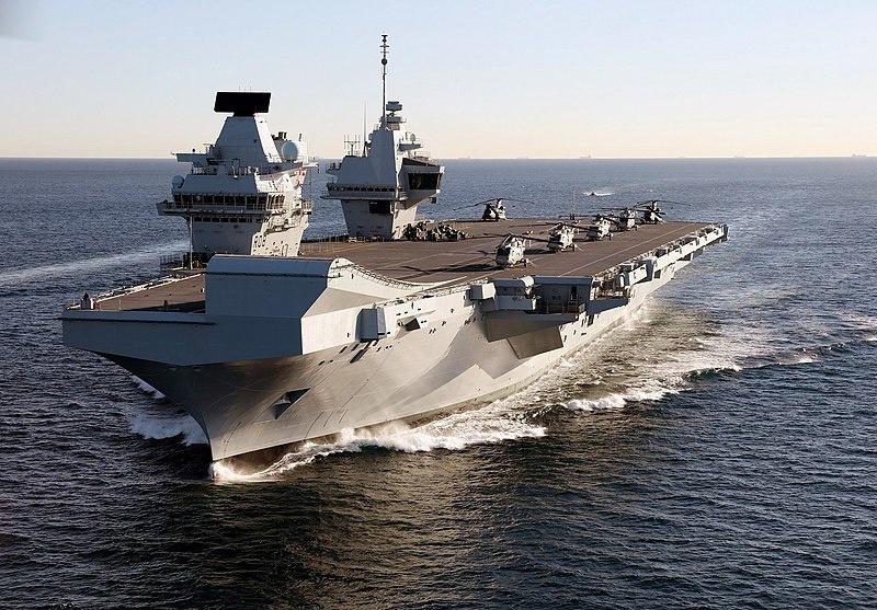 В мае этого года Лондон впервые планирует направить в район Восточно-Китайского моря свою авианосную ударную группу (АУГ) во главе с авианосцем «Queen Elizabeth» («Королева Елизавета»).
