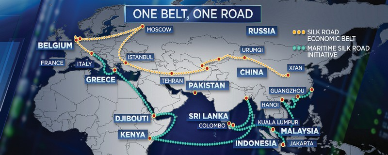 Глобальный экономический проект «Один пояс - один путь».