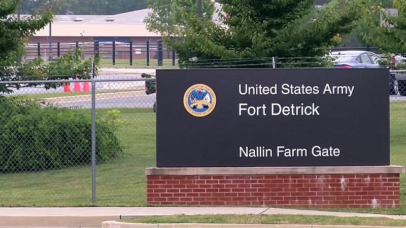 Военная биологическая лаборатория Форт-Детрик, штат Мэрилэнд.