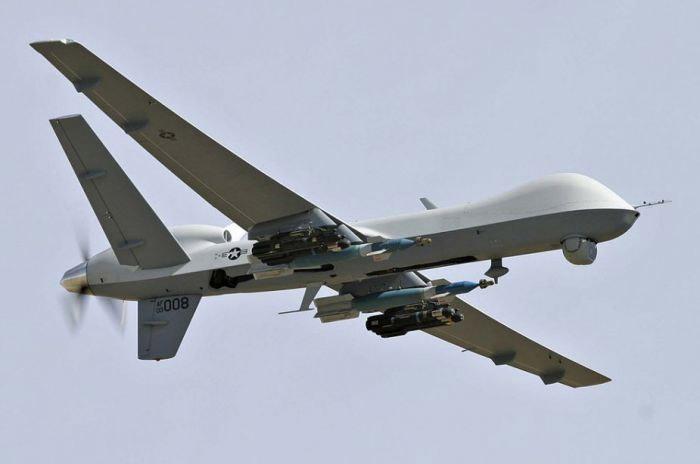MQ-9 Reaper активно использовался в операциях на Ближнем Востоке для нанесения воздушных ударов по террористам.