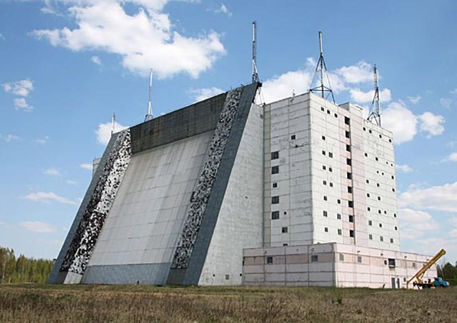 Радиолокационная станциия (РЛС) «Волга» в Брестской области.