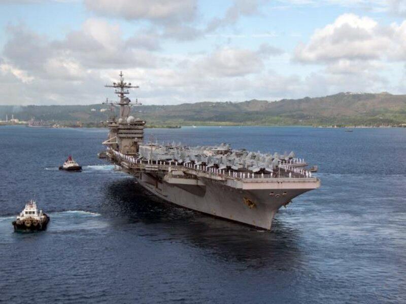 В конце января 2021 г. американский авианосец TheodoreRoosevelt и корабли сопровождения попытались проникнуть в спорные территориальные воды КНР в районе Тайваня.