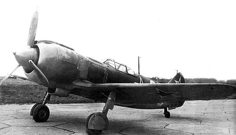 Истребитель «Ла-5».