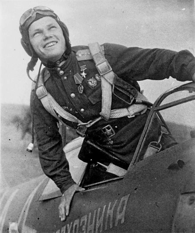 В феврале 1944 года Ивану Кожедубу было присвоено звание Героя Советского Союза.