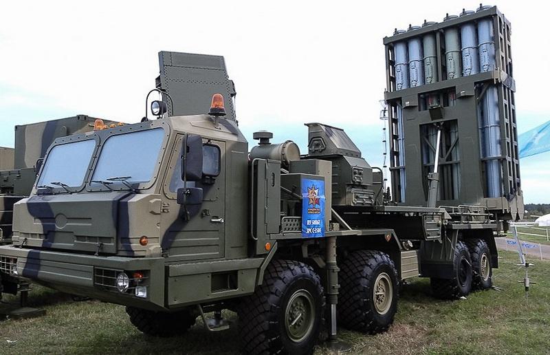 С-350 «Витязь» - новейшая система ПВО, её испытания завершились в 2019 году.