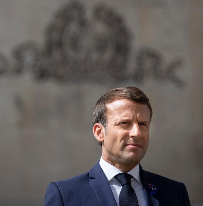 Французский президент Макрон не скрывает, что является очень амбициозным лидером.