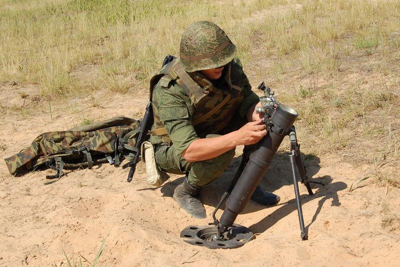 «Галл» предназначен для поражения живой силы противника.