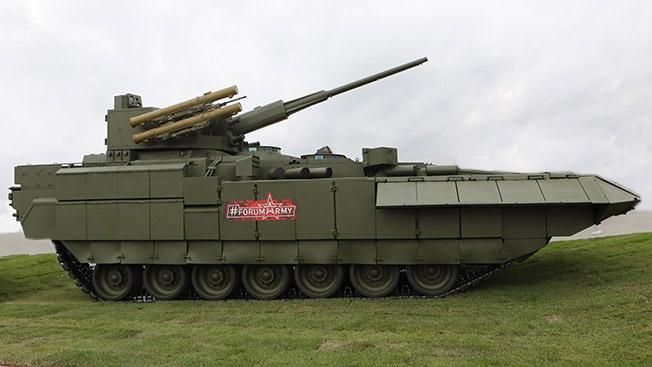 Минобороны согласовало вооружение новейшей тяжёлой боевой машины пехоты Т-15.