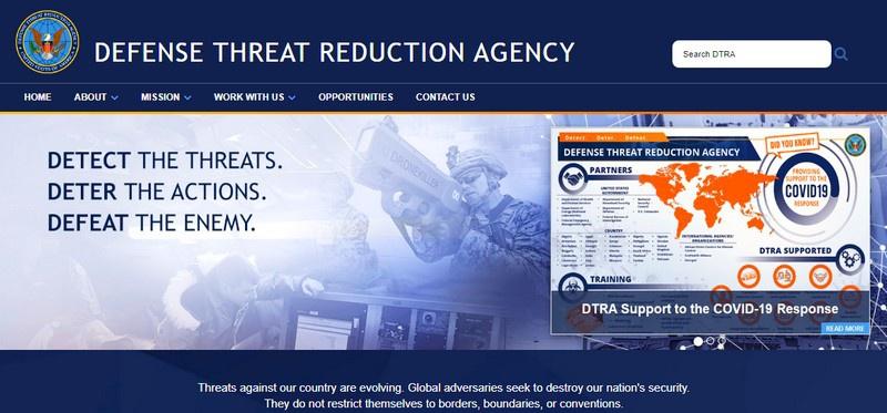 Миссия DTRA «позволяет Министерству обороны и правительству США работать над оружием массового уничтожения и бороться с возникающими угрозами, а также обеспечивать ядерное сдерживание».