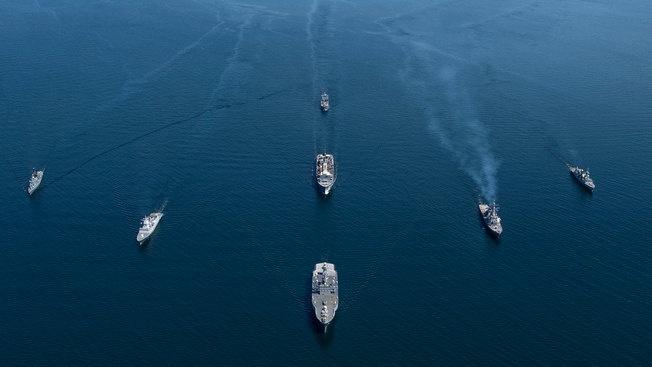 Тральщики НАТО проверили «Северный поток-2»
