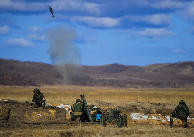 По плану боевой подготовки нового учебного периода прошли учения на Сахалине и Курильских островах.