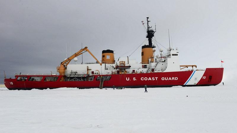 В настоящее время США располагают единственным действующим 44-летним тяжёлым ледоколом Polar Star.