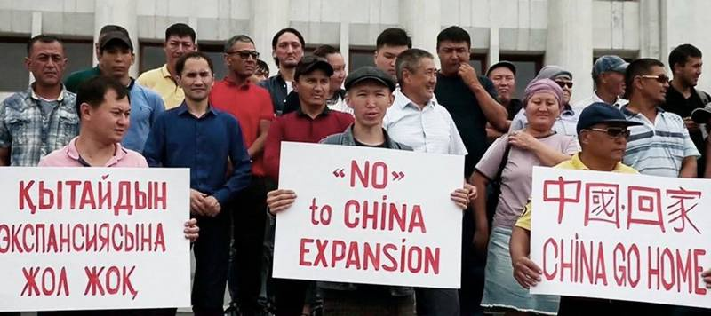 Волна антикитайских протестов прокатилась недавно по Казахстану.
