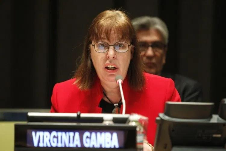 Специальный представитель ООН по детям и вооружённым конфликтам Вирджиния Гамба.