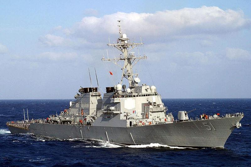 Эсминец класса «Арли Берк» водоизмещением 9.000 тонн стоит более 2 млрд долл.