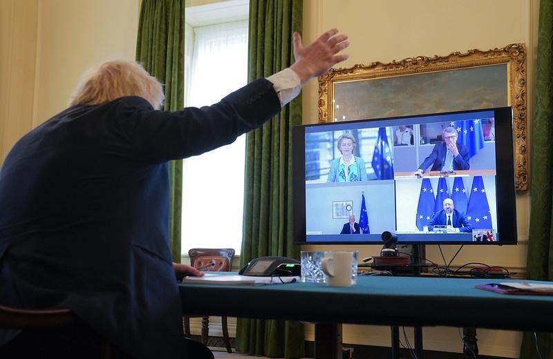 Саммит между Лондоном и Брюсселем прошёл 15 июня по видеоконференции.