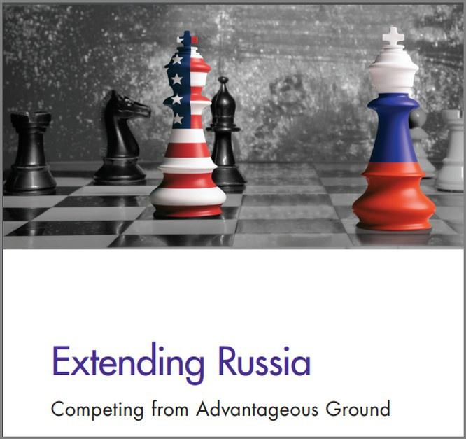 Опубликованный весной 2019 года доклад Rand Corporation «Перенапряжение России: конкуренция с выгодных позиций».